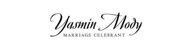 Yasmin Mody Marriage Celebrant